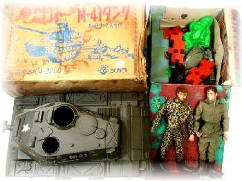 G.Iジョー 前線司令部、M-41タンク、小物多数