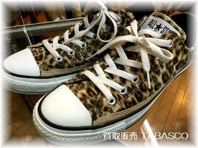 コンバース LEOPARD OX BROWN