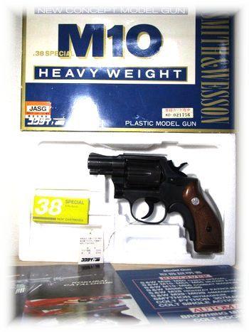 コクサイ S&W OLD MODEL M10 .38スペシャル ヘビーウェイト 2インチ