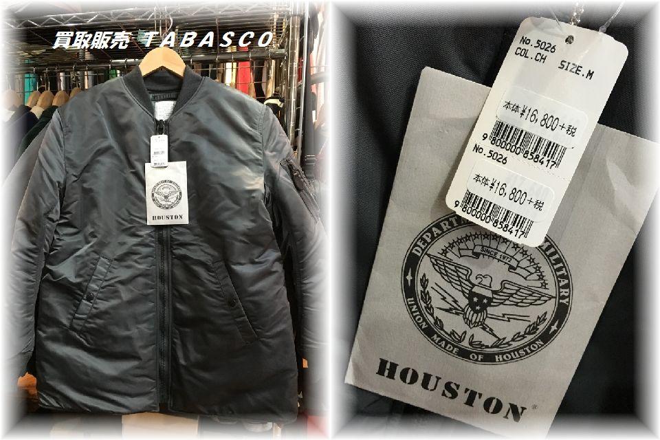 HOUSTON ヒューストン MA-1ALL