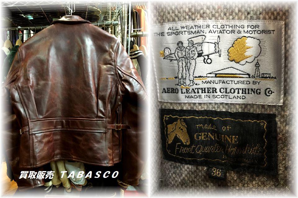 Aero Leather エアロレザー ハーフベルト 36