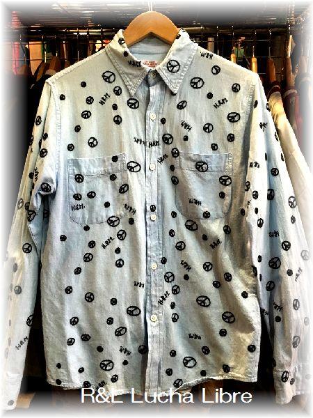 H.R.MARKET ハリラン 刺繍シャツ
