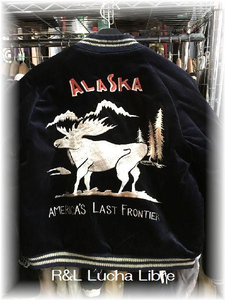 東洋 ALASKA MAP×REINDEER スカジャン