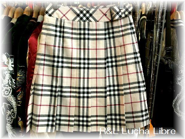 BURBERRY LONDON バーバリー ロンドン 巻きスカート