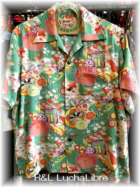 アロハシャツ 「THE ROYAL WAGON」