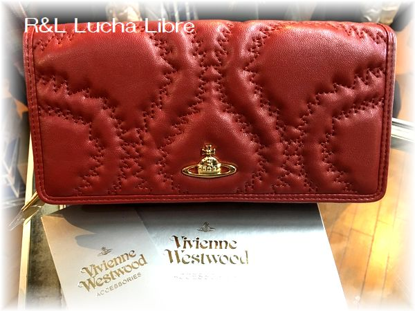 Vivienne Westwood ヴィヴィアン  QUILTED SQUIGGLE  キルテッド