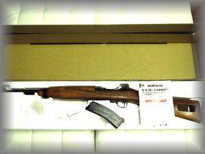 マルシン U.S.M1 CARBINE 8mmBB BLOWBACK maxi8 LD-2