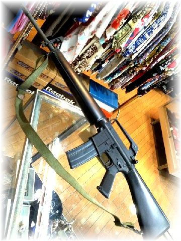 国際産業 コクサイ ガス M16A1