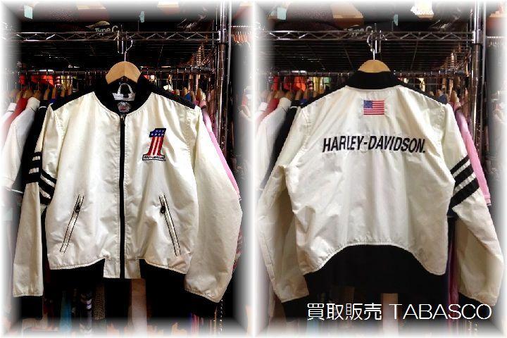 ハーレー No.1 レーシング デザイン ナイロンジャケット