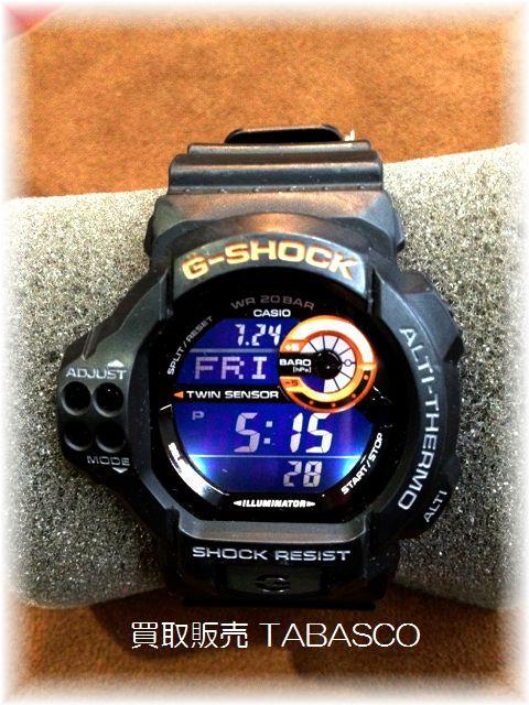G-SHOCK ツインセンサー GDF-100-1BJF