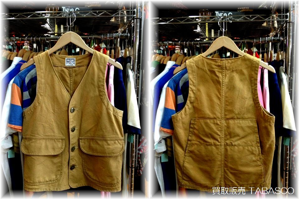 JOE McCOY CANVAS WORK VEST