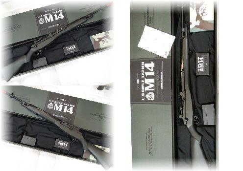 東京マルイ   U.S.ライフル M14 ファイバータイプ O.Dストック