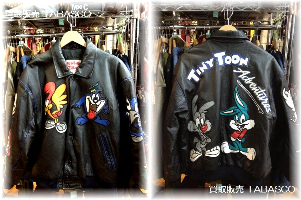 MONTANA TOONS LEATHER JACKET  タイニートゥーン
