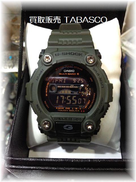 G-SHOCK GW-7900KG-3JF アーミーグリーン