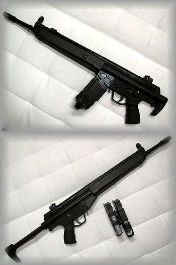 KSC HK33E 電動ガン