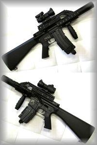 マルイ KNIGHT'S SR-16 M4 カスタム