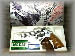 MGC S&W M-686  .357 COMBAT MAGNUM REVOLVER