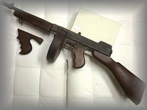 MGC トンプソンサブマシンガン M1921 金属製モデルガン